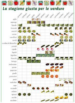 Come comprare frutta e verdura di stagione - Idee Green