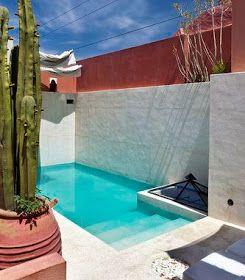 Las 25 mejores ideas sobre peque as piscinas en pinterest for Piscinas en patios chicos