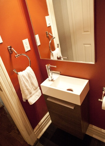 47 best images about powder room on pinterest wall mount - Small powder room sinks ...