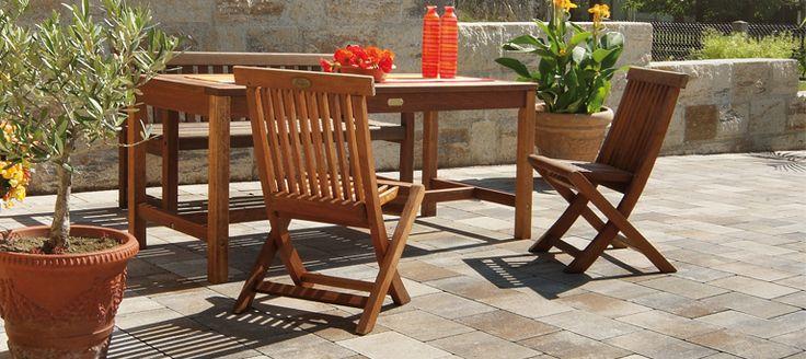 viaston nativo muschel kalk nuanciert pflaster mit sommerlicher sitzgelegenheit inspiration. Black Bedroom Furniture Sets. Home Design Ideas