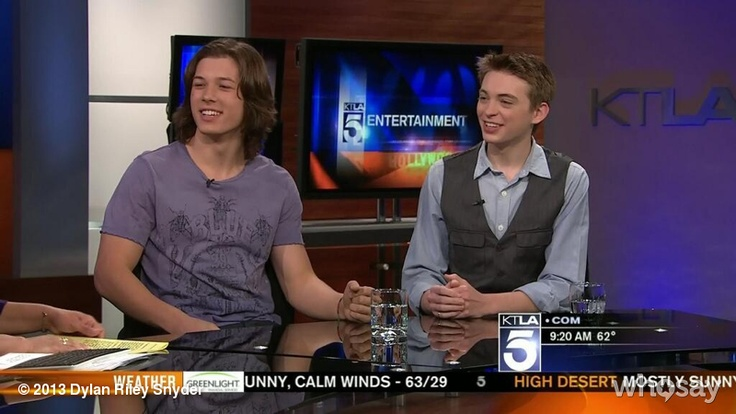 "Dylan Riley Snyder's photo ""KTLA morning news interview w...""  on @Jose Quilisadio"