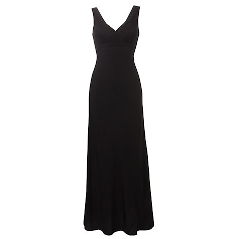 Buy Ghost Whitney Long Crepe Dress Online at johnlewis.com