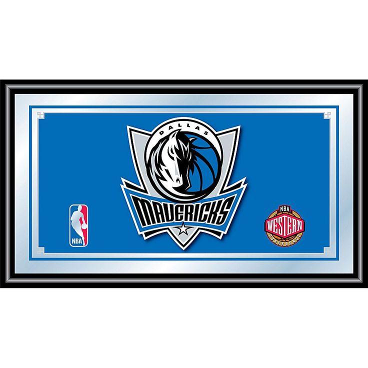 Trademark Global, Inc. Dallas Mavericks NBA Framed Logo Mirror