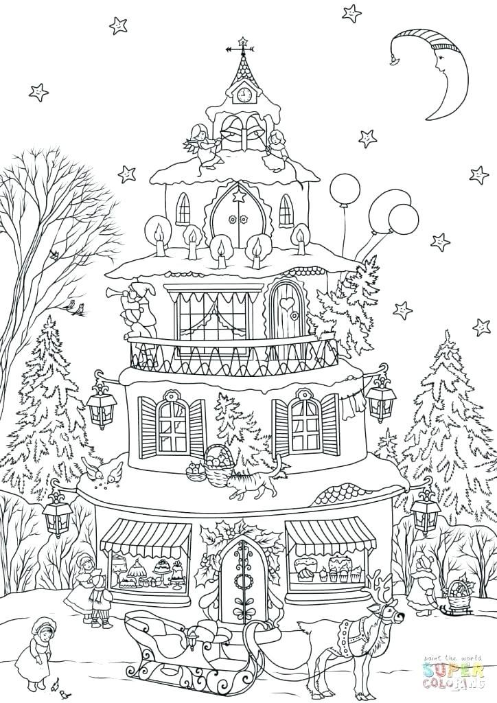 Grab Your New Coloring Pages Gingerbread House Download Http Gethighit Com New Coloring Pages Gi House Colouring Pages Garden Coloring Pages Coloring Pages