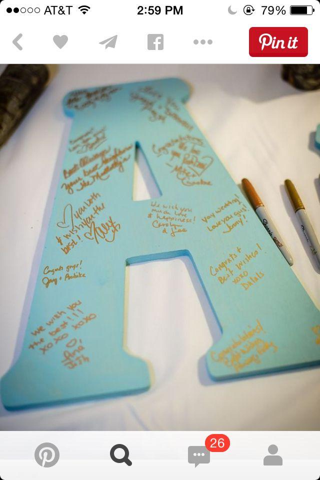 bridal shower keepsake book%0A Crazy Cool Guest Book Ideas That We Love