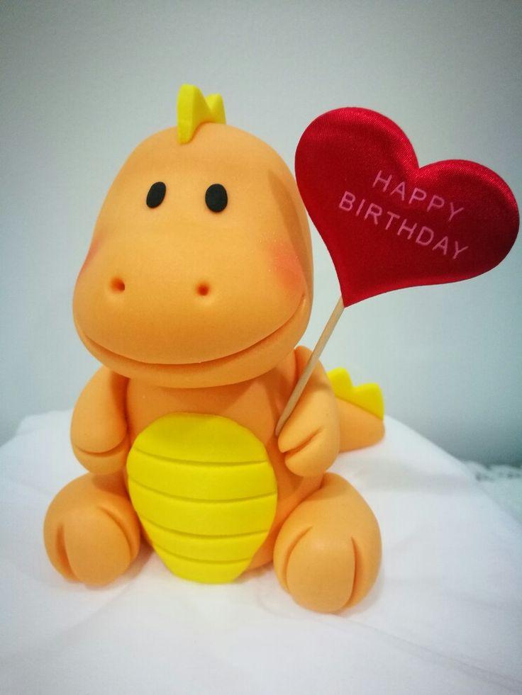 Dino Wedding Cake Topper