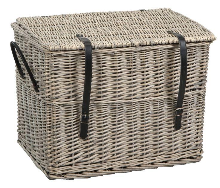 Koffer Harold L: Handige opberger voor stoer interieur. Ook verkrijgbaar in kleiner formaat #HomeLabel