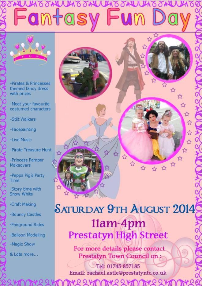 Prestatyn Town Council Fantasy Fun Day 2014