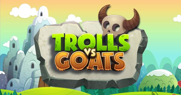 Trolls vs Goats - Puzzle game design by Fgfactory, via Behance