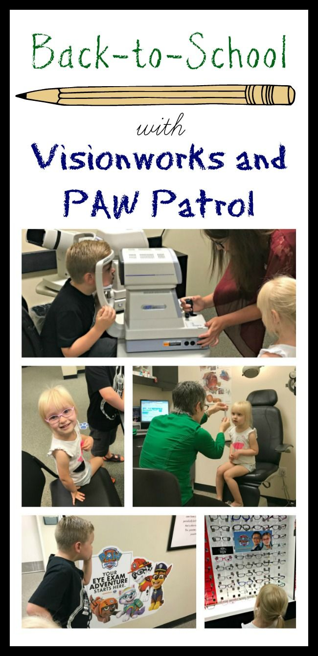 Back-to-School with Visionworks and PAW Patrol, eye exams for kids, PAW Patrol at Visionworks, eye exams for kids, when do you take kids to the eye doctor, eye doctor for kids, eye exam tips for kids #ad #Visionworks @Visionworks