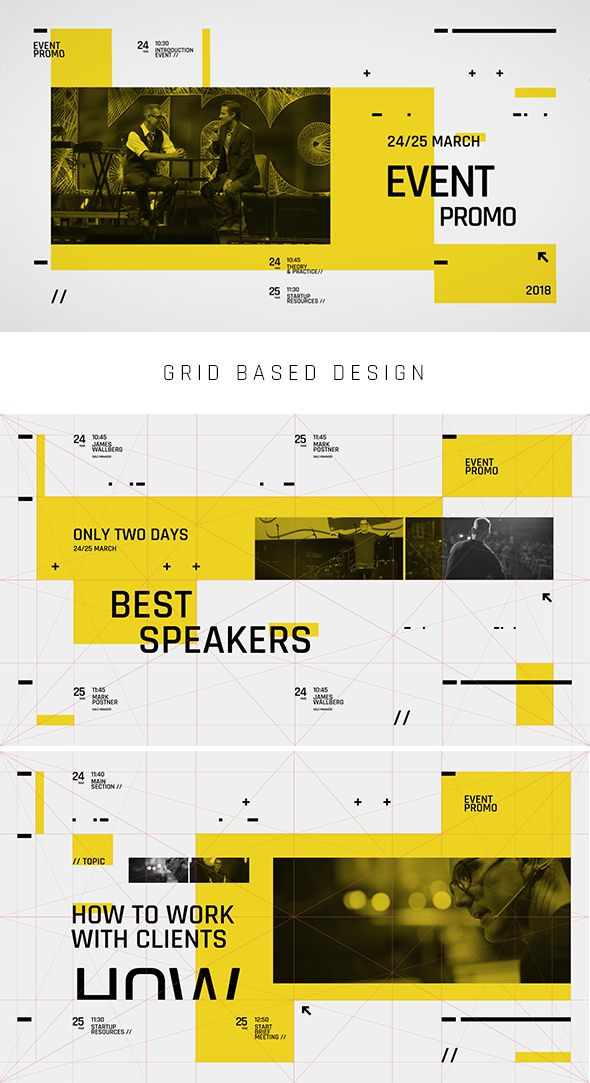 Event Promo Typography. Project features: Full…