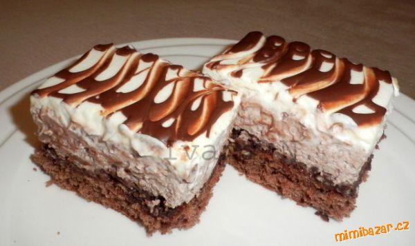 Čokoládové řezy s mascarpone