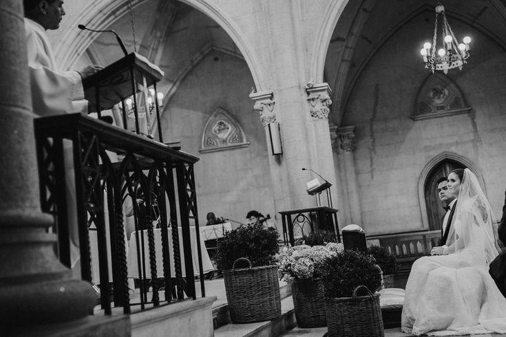 Cestos con boj y hortensias. Parroquia Jesús Nazareno. Pedro y Katherine, Foto por Matías González Photography