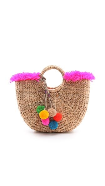 40 best images about straw bag on Pinterest | Straw beach bags ...