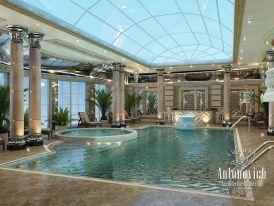 Projeto da piscina do autor   – For the Home