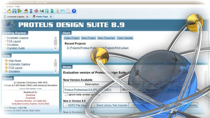 Proteus portable is PCB designing software uses in