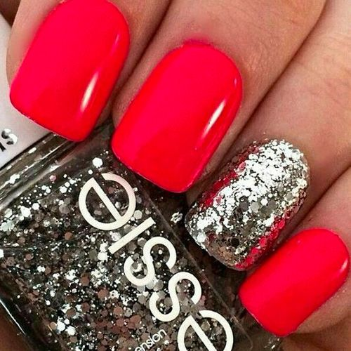 17 Best Red Hot Valentine's Day Nails for 2018 - Nail Favorites