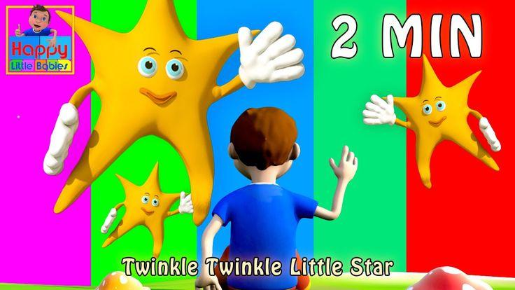 Twinkle Twinkle Little Star (Loop) |Nursery Rhymes (Repeat 4 times) | Ha...