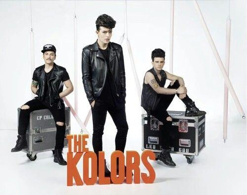 "So,they are a new Italian band.They won a talent programme some months ago.Please search ""The kolors-Everytime"" on You Tube"