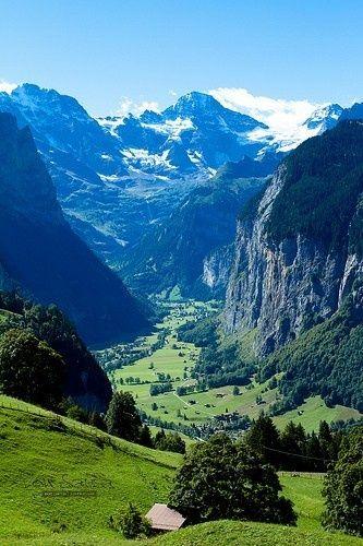 #Alps, Switzerland -> 3 Easy Weekend Getaways in Europe