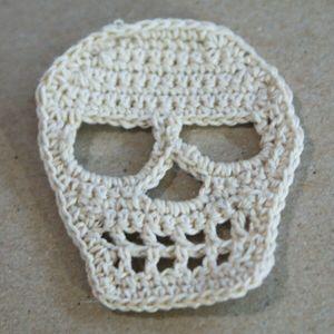 Knit Skull Pattern : http://knittingandcrochet.net/knit-and-crochet-skull-patterns/ crochet proj...