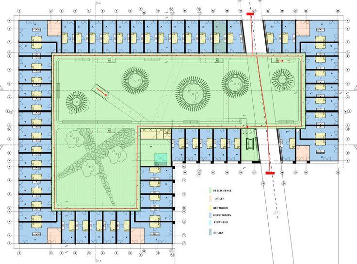 dormitory plan layout - Google'da Ara
