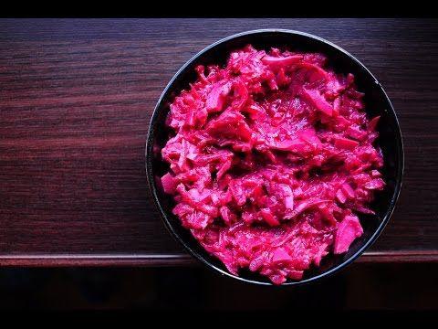 Жиросжигание: салат из варёной свеклы и яиц [спортивная диета] - YouTube