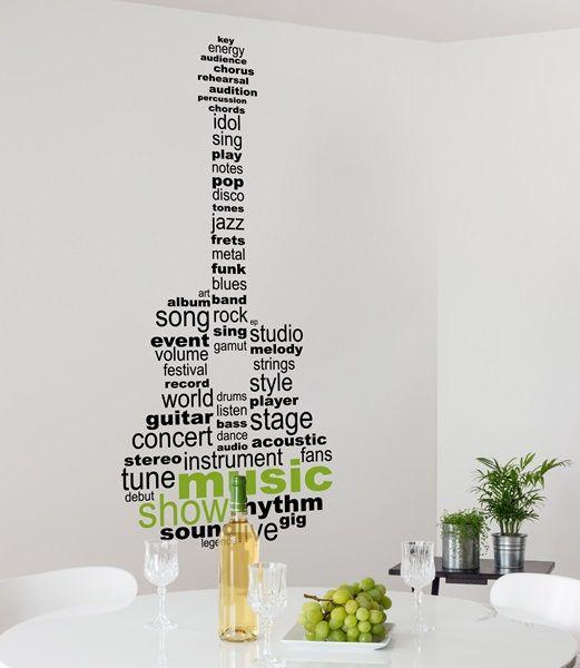40 best vinilos decorativos images on pinterest vinyls - Ultimas tendencias en decoracion de paredes ...