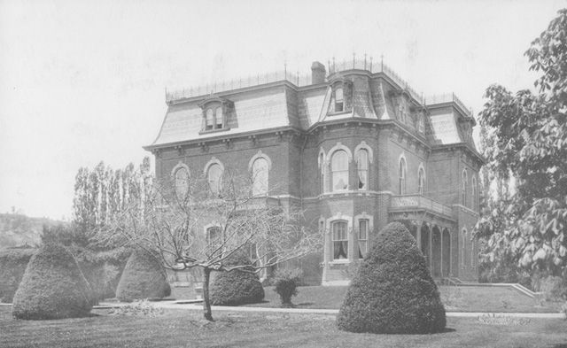 Historypin |  built 1890. 7 Bake Street, home of John and Adelaide Hoodless. Now a retirement home and can be seen from Main Street