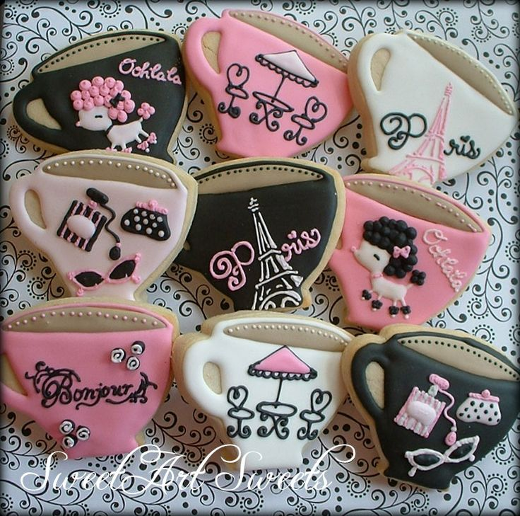 french cookie theme