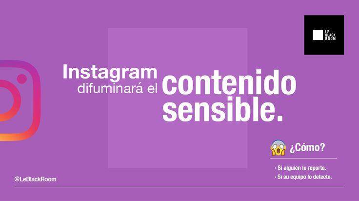 Ahora instagram comenzará a censurar el contenido que considere sensible.