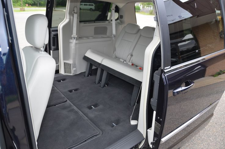 Rear Right Interior View of the 2010 Chrysler Town and Country Touring PL For Sale
