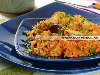 Receita de Risoto de bacalhau - Guia da cozinha