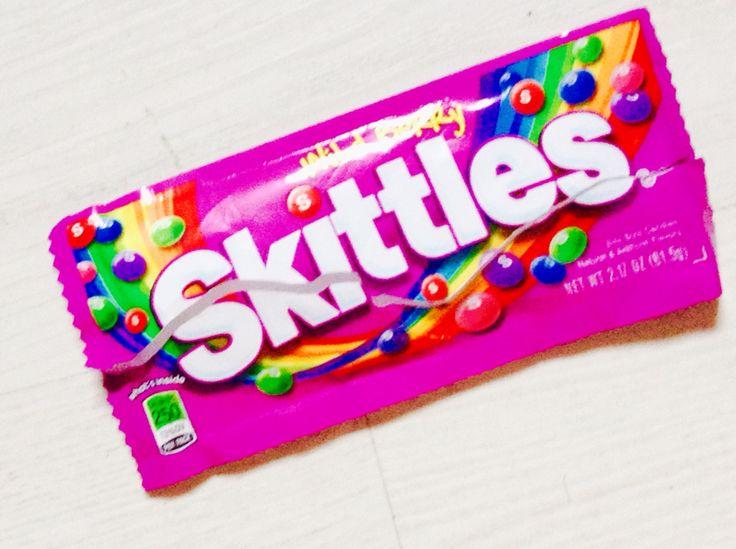 Skittles Is sad  #heartbreak #skittles,shareyourfeelingswithhe