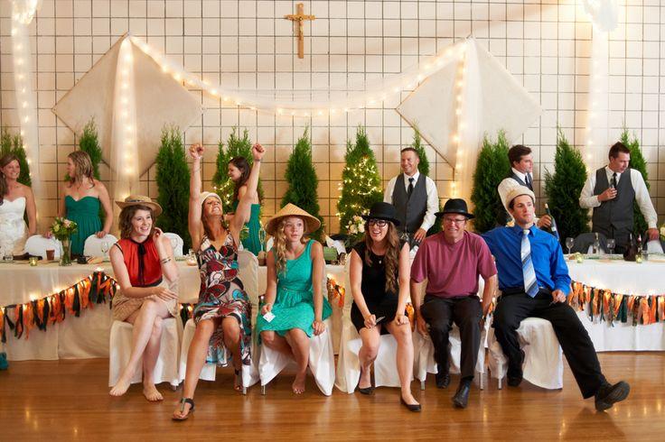 Reception shenanigans, Kelowna Wedding