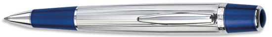 Waterford Marquis - Arista Navy Lined Ballpoint