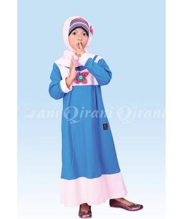 Beli Baju Dress Anak Gamis Qirani Kids QK-50 Biru Tua dari Aprilia Wati agenbajumuslim - Sidoarjo hanya di Bukalapak