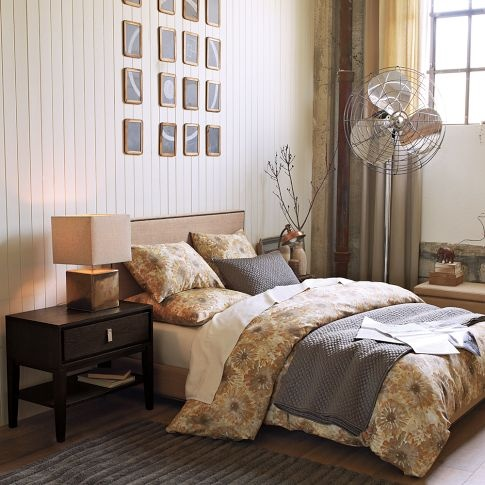 bedding grey and gold farmhouse chic pinterest