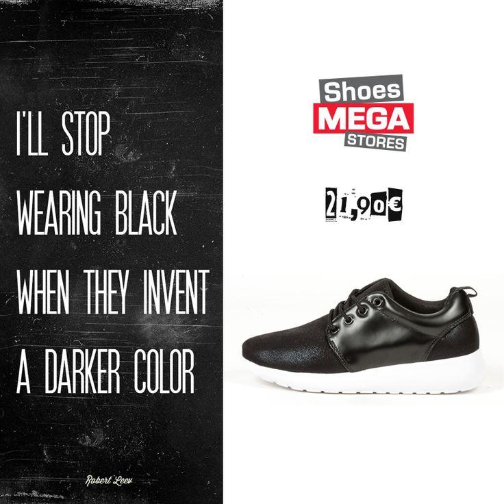Φορέστε τα με πολλά διαφορετικά outfits και πρωτοτυπήστε!  #shoesmegastores #sneakers #black #casual