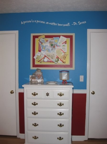 Picture Board - Seuss Room