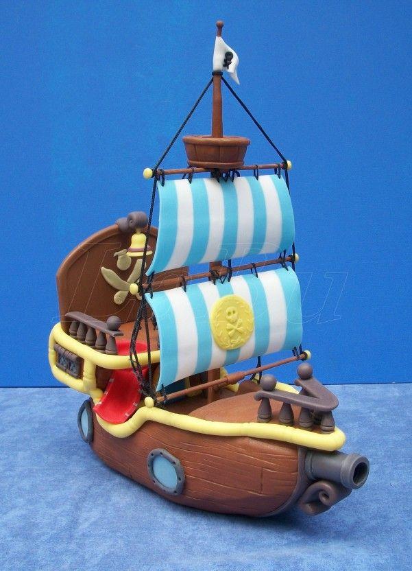 Jake, el pirata y su barco - manosalaobratv