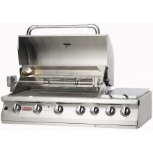 Blaze 32 Inch 4-Burner Built-In Natural Gas Grill With Rear Infrared Burner : BBQ Guys