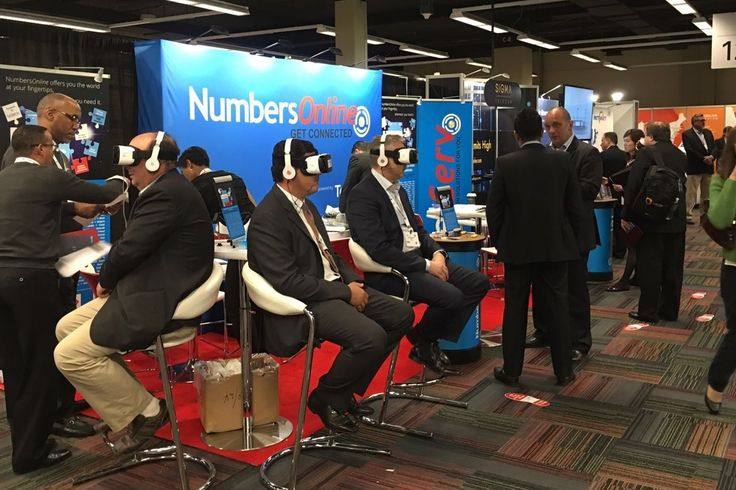 #VR-tour through our new #online #platform. A very successful introduction of #NumbersOnline at the #ITW2016....
