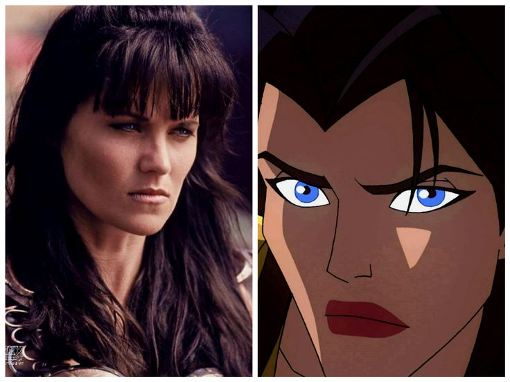 Lucy lawless is Hippolyta