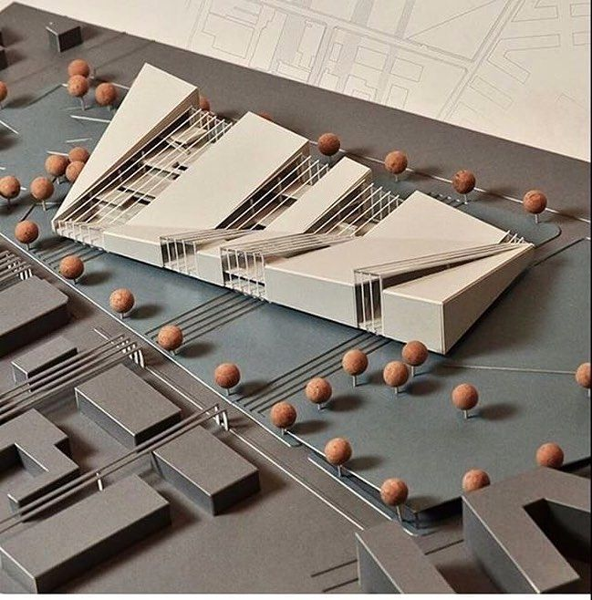 "240 Likes, 1 Comments - Art & Architecture (@architects_need) on Instagram: ""Amazing model of cultural center  Check @arch_philo for more .... . . .✔️Follow…"""