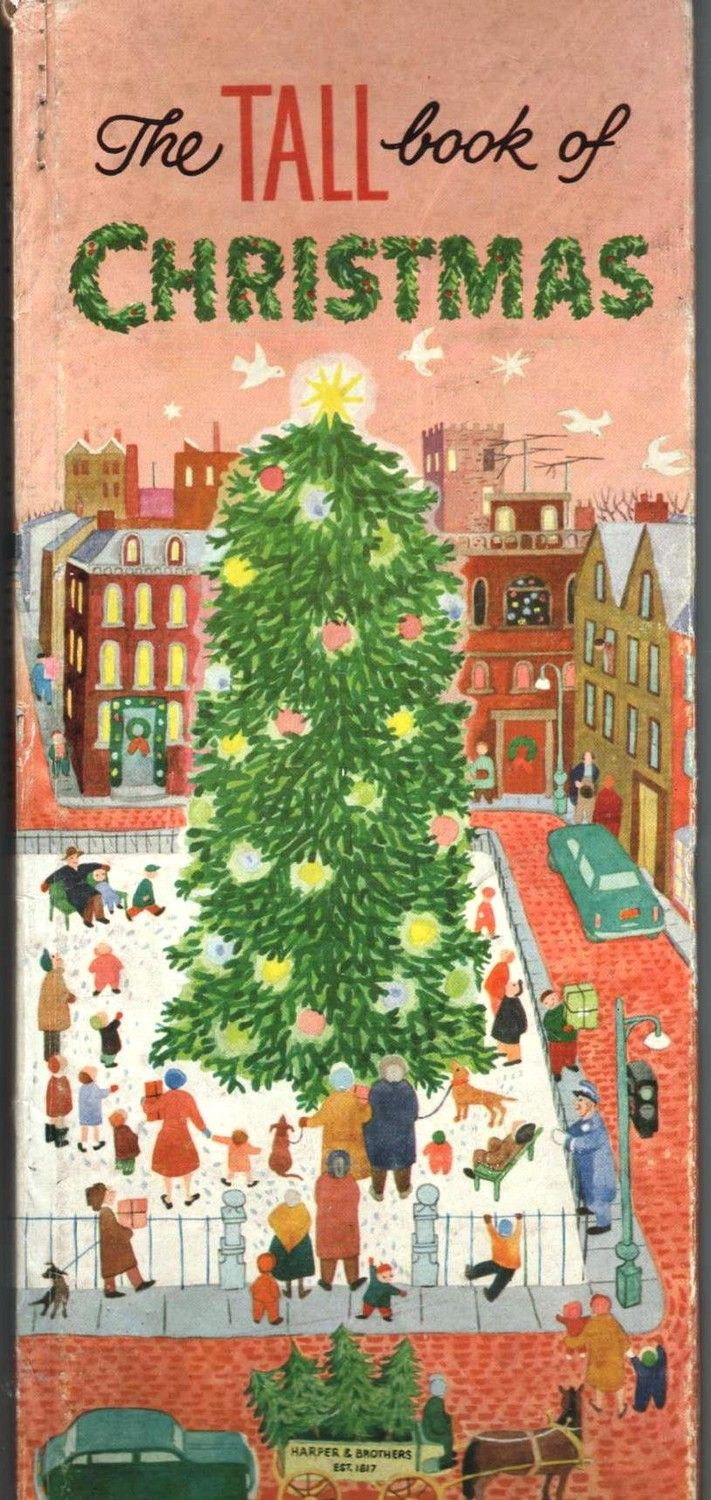 The Tall Book Of Christmas Illustrated By Gertrude Elliott Espenscheid  (1954)