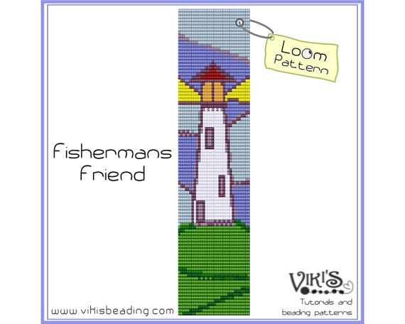 Bead Loom Pattern - Fisherman's Friend - INSTANT DOWNLOAD pdf - Save with our coupon codes