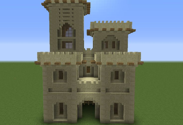 Arabic Desert Castle - GrabCraft - Your number one source for MineCraft buildings, blueprints, tips, ideas, floorplans!