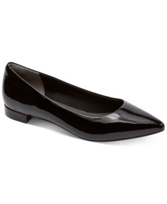 Rockport Women's Total Motion Adelyn Pointed-Toe Flats | macys.com