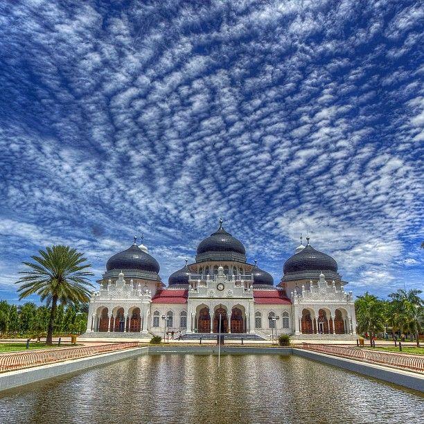 Baiturrahman Mosque, Banda Aceh